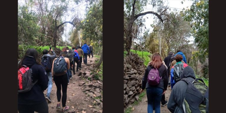 Caminata Cerro San Cristóbal - Miércoles 21 de agosto 2019