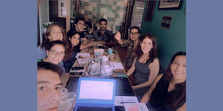 Reunión Equipo en Café Quererte - Jueves 27 de febrero 2020