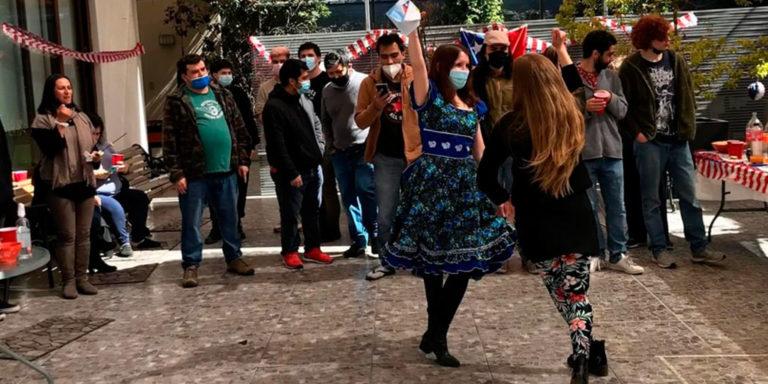 Celebración fiestas patrias